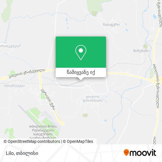 Lilo რუკა
