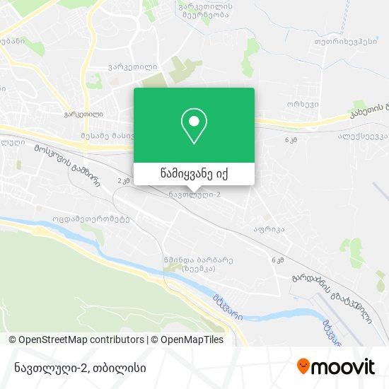 ნავთლუღი-2 რუკა