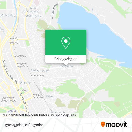 ლოტკინი (Lotkini) რუკა
