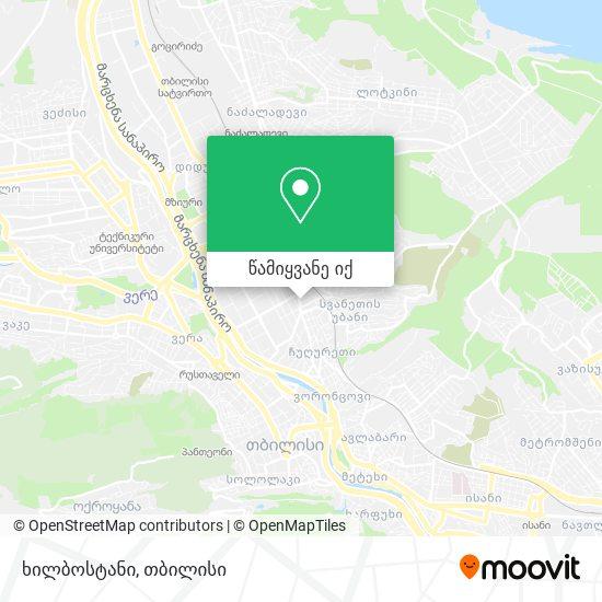 ხილბოსტანი რუკა