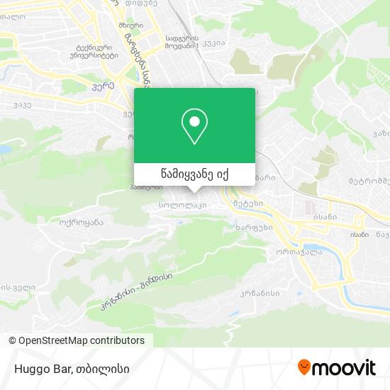 Huggo Bar რუკა