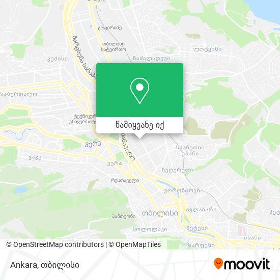 Ankara რუკა
