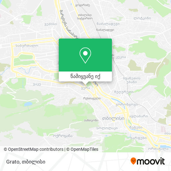 Grato რუკა