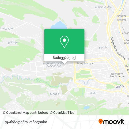 ფარმადეპო რუკა