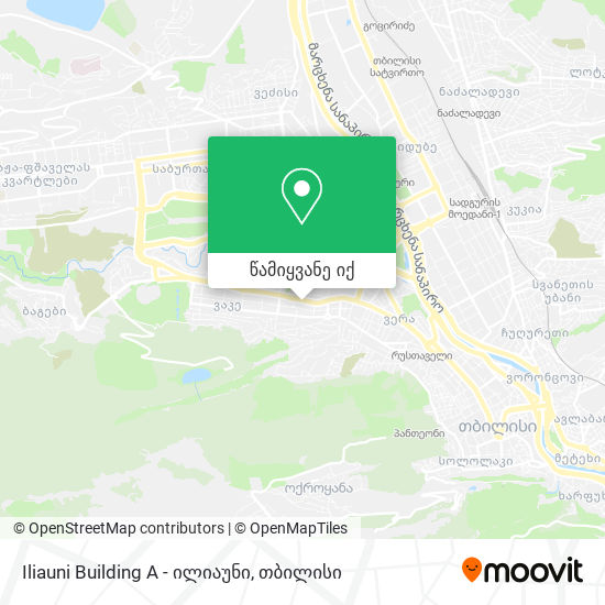 Iliauni - ილიაუნი რუკა