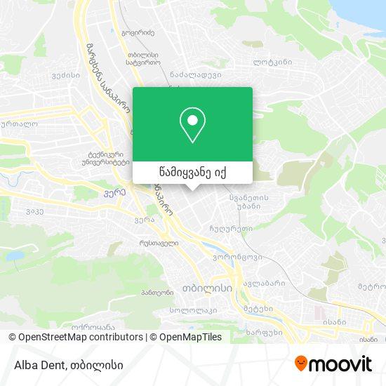 Alba Dent რუკა