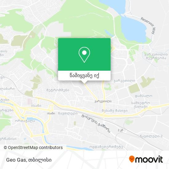 Geo Gas რუკა