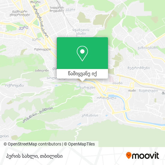 პურის სახლი (Puris Sakhli) რუკა