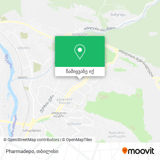 Pharmadepo რუკა