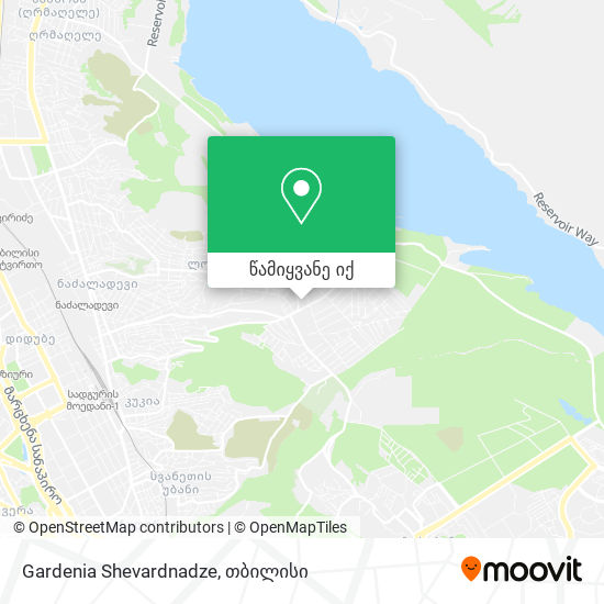 Gardenia Shevardnadze რუკა