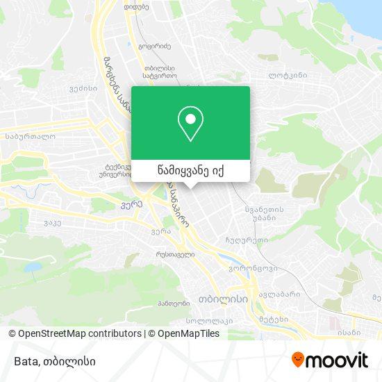 Bata რუკა