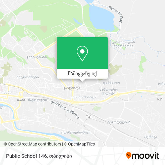 Public School 146 რუკა