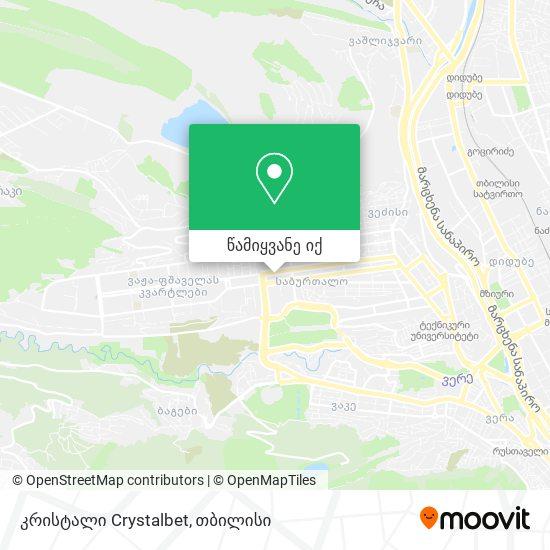 კრისტალი Crystal რუკა