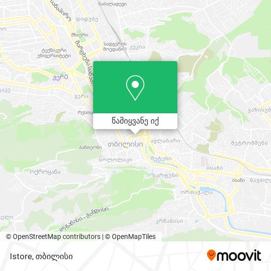 Istore რუკა