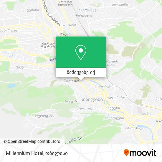 Millennium Hotel რუკა