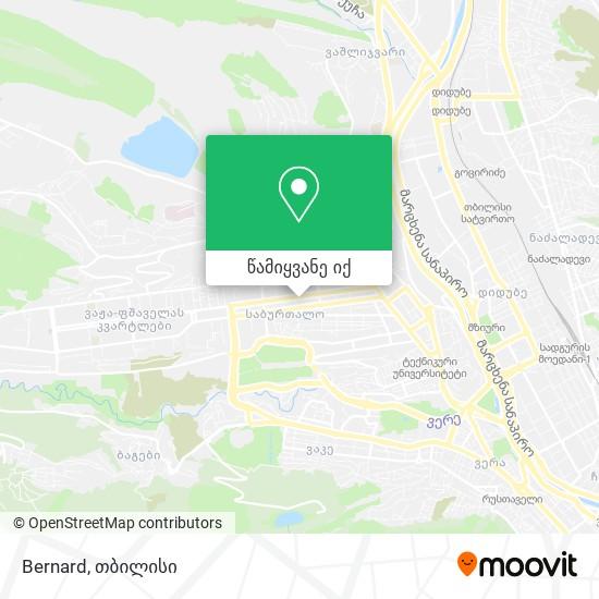 Bernard რუკა