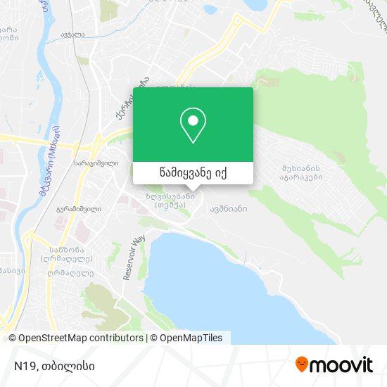 N19 რუკა