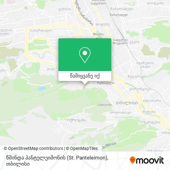 წმინდა პანტელეიმონის (St. Panteleimon) რუკა