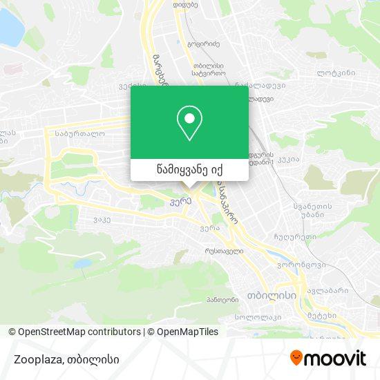 Zooplaza რუკა