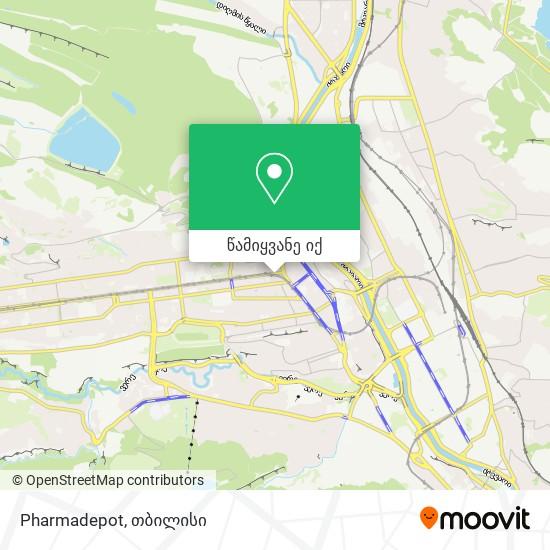 Pharmadepot რუკა