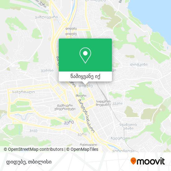დიდუბე რუკა