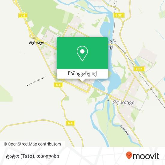 ტატო (Tato) რუკა