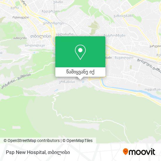 Psp New Hospotals რუკა