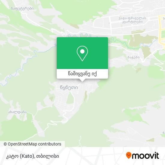 კატო (Kato) რუკა