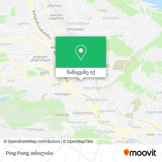 Ping Pong რუკა