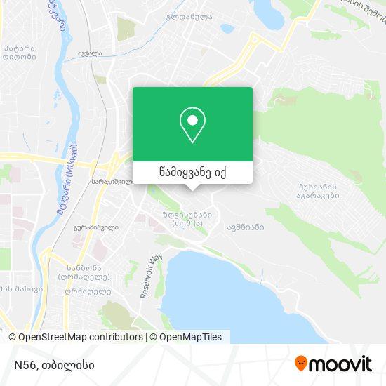 N56 რუკა
