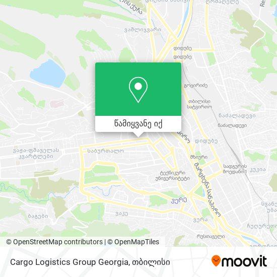Cargo Logistics Group Georgia რუკა
