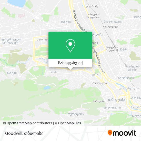 Goodwill რუკა