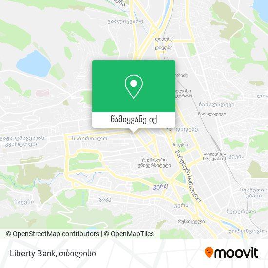 Liberty Bank რუკა