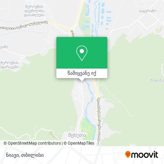 ნიავი (Niavi) რუკა