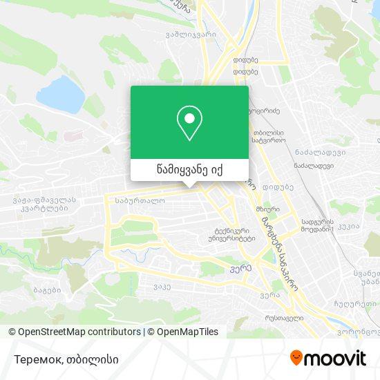 Теремок (Teremok) რუკა