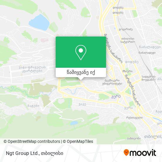 Ngt Group Ltd. რუკა