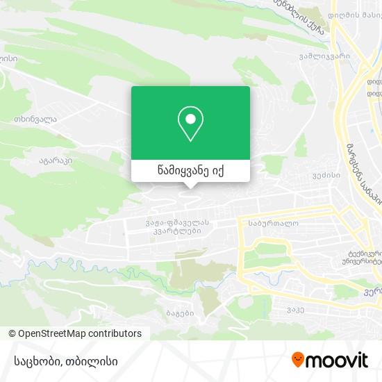 საცხობი რუკა