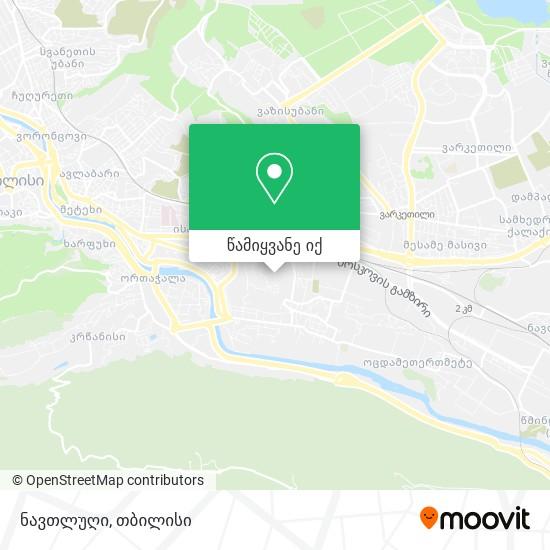 ნავთლუღი რუკა
