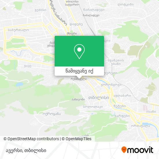 Aversi № 73 რუკა