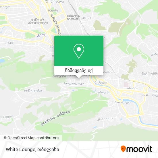White Lounge რუკა