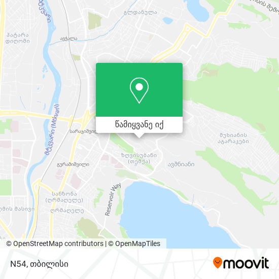N54 რუკა