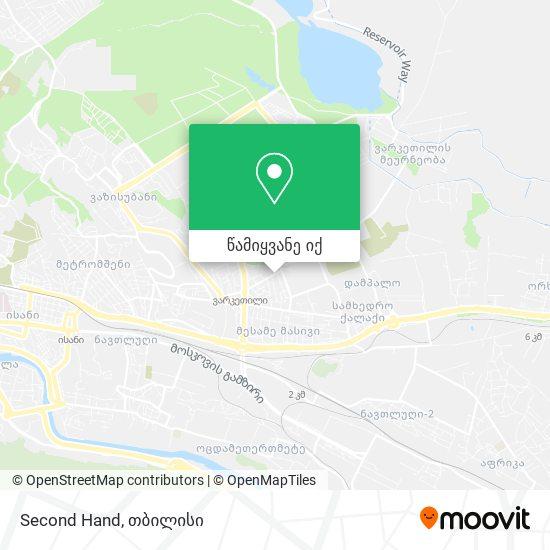 Second Hand რუკა