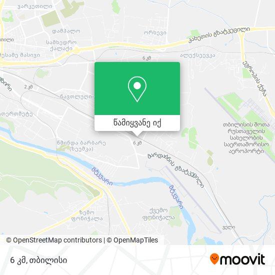 Bak. 6 Km რუკა