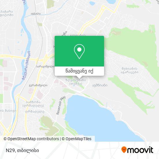 N29 რუკა