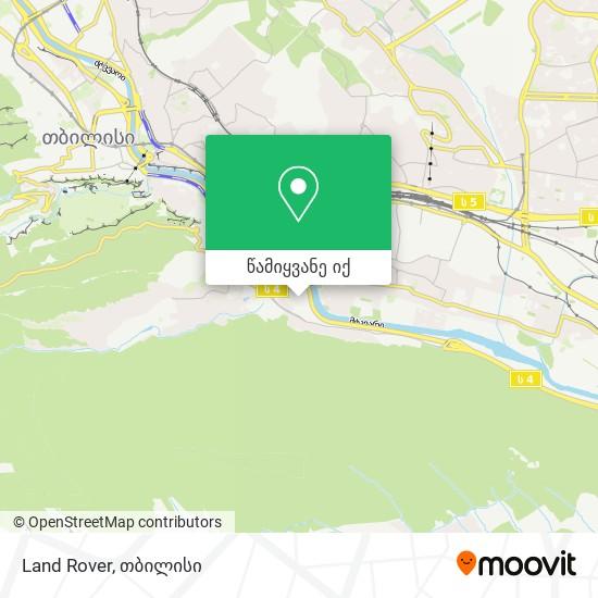 Land Rover რუკა