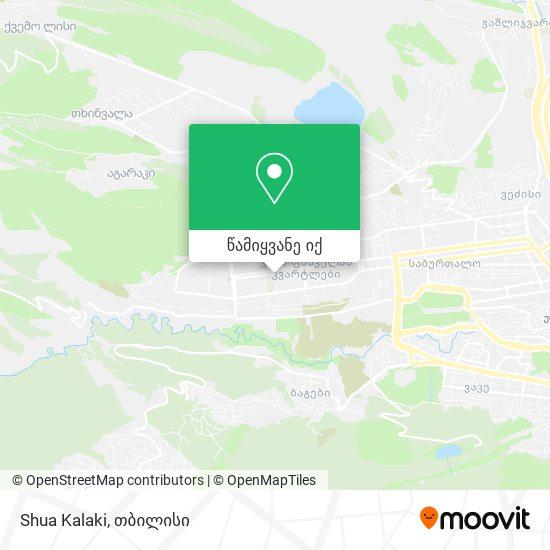 Shua Kalaki რუკა
