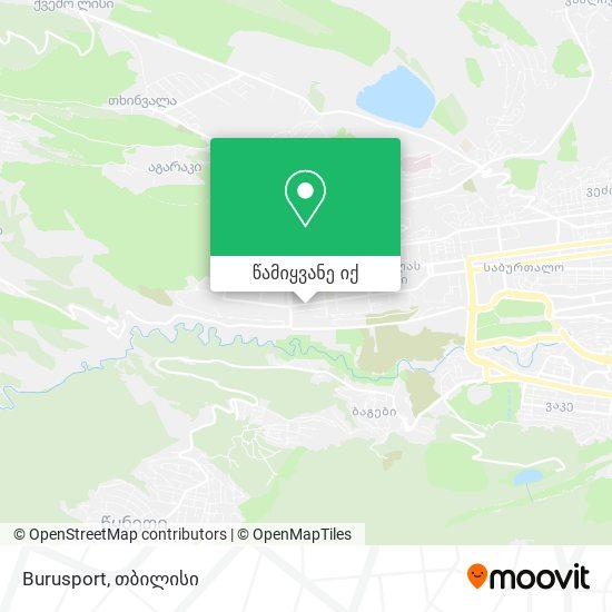 Burusport რუკა
