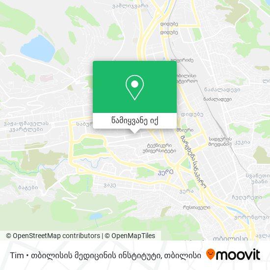 კურაციო (Curatio) რუკა
