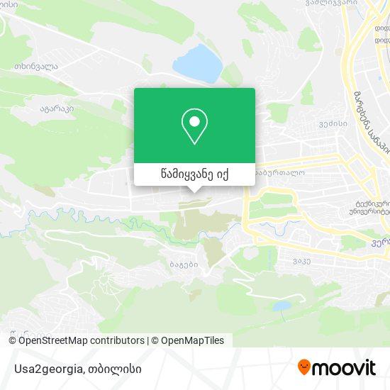 Usa2georgia რუკა