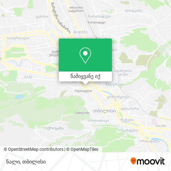 ნალი (Nali) რუკა